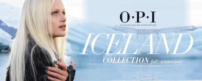 OPI ICELAND COLLECTION - Fall/Winter 2017