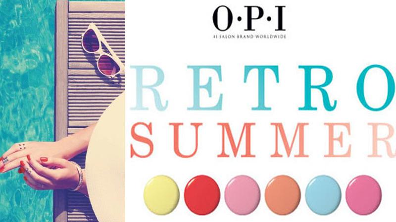 OPI RETRO SUMMER 2016