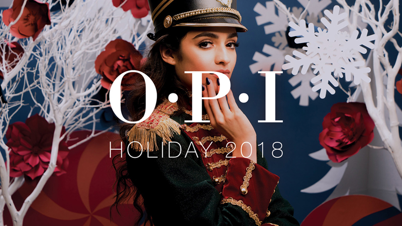 OPI NUT CRACKER COLLECTION HOLIDAY 2018